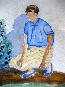 Norma ~ Watercolor by John Klobucher