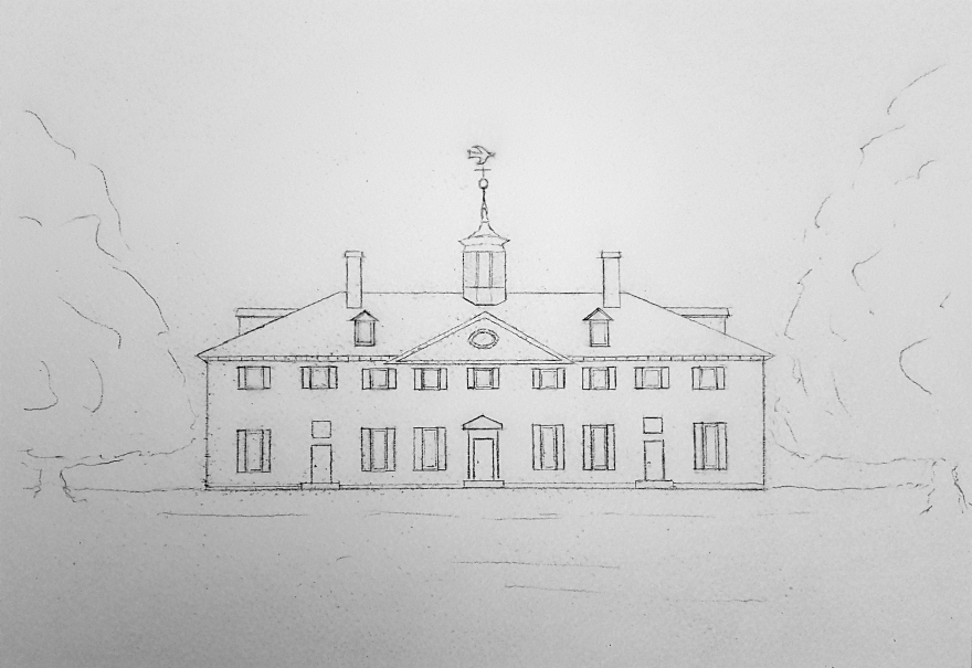 House of Lore #1 ~ Sketch by John Klobucher