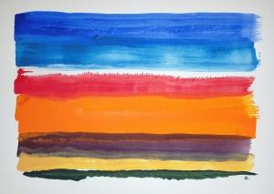 Portland Light ~ Watercolor by John Klobucher